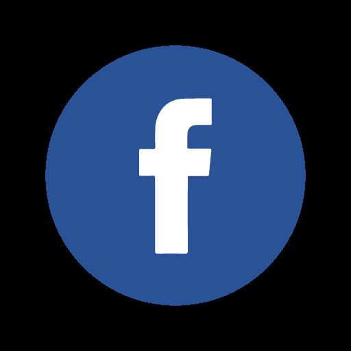 logo facebook bleu rasoir service