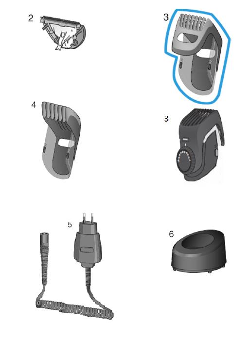 sabot barbe 1 11 mm braun bt7050