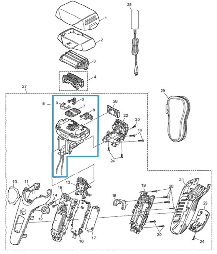 moteur linéaire es lv6n panasonic