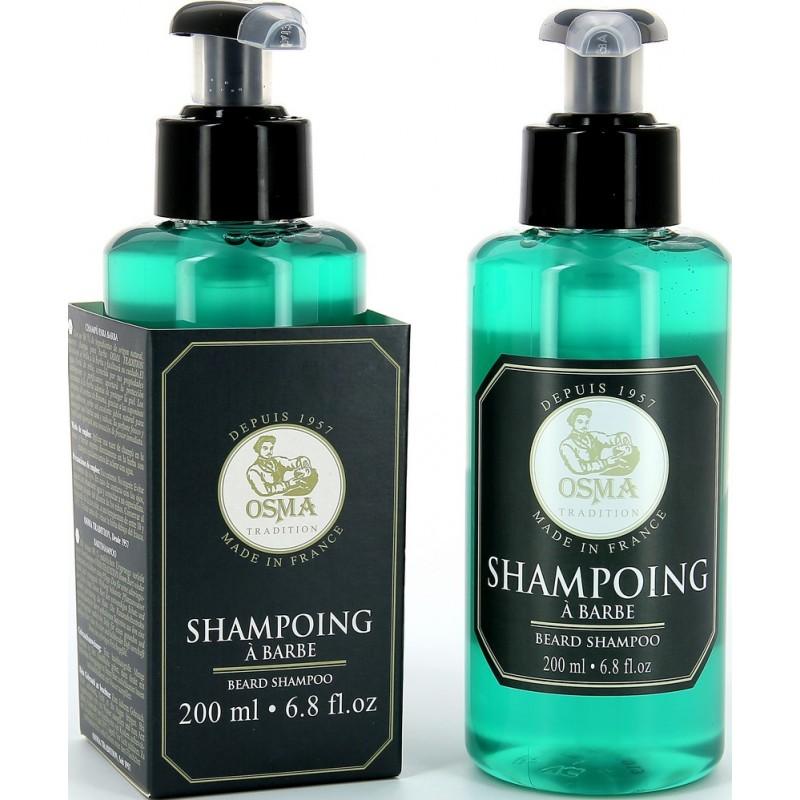 Shampoing barbe OSMA rasoir service