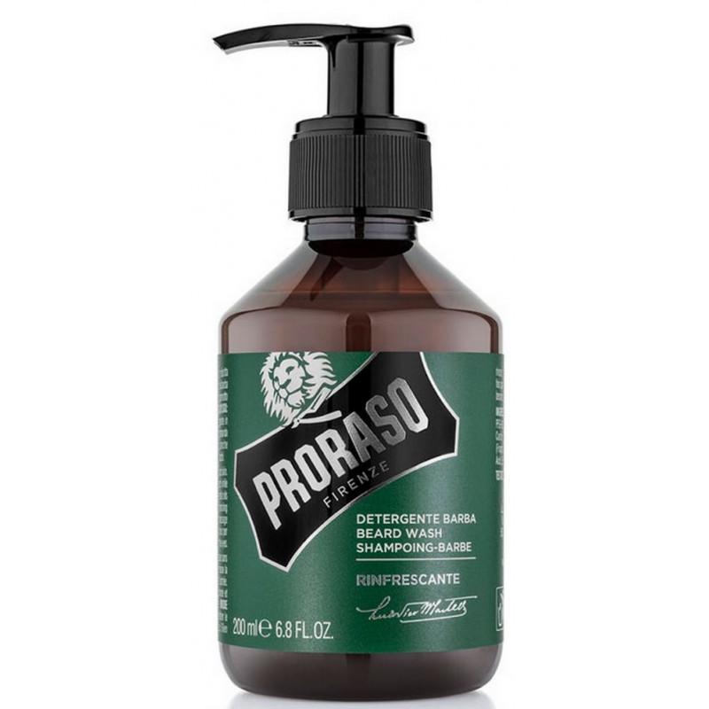 shampoing barbe proraso rasoir service